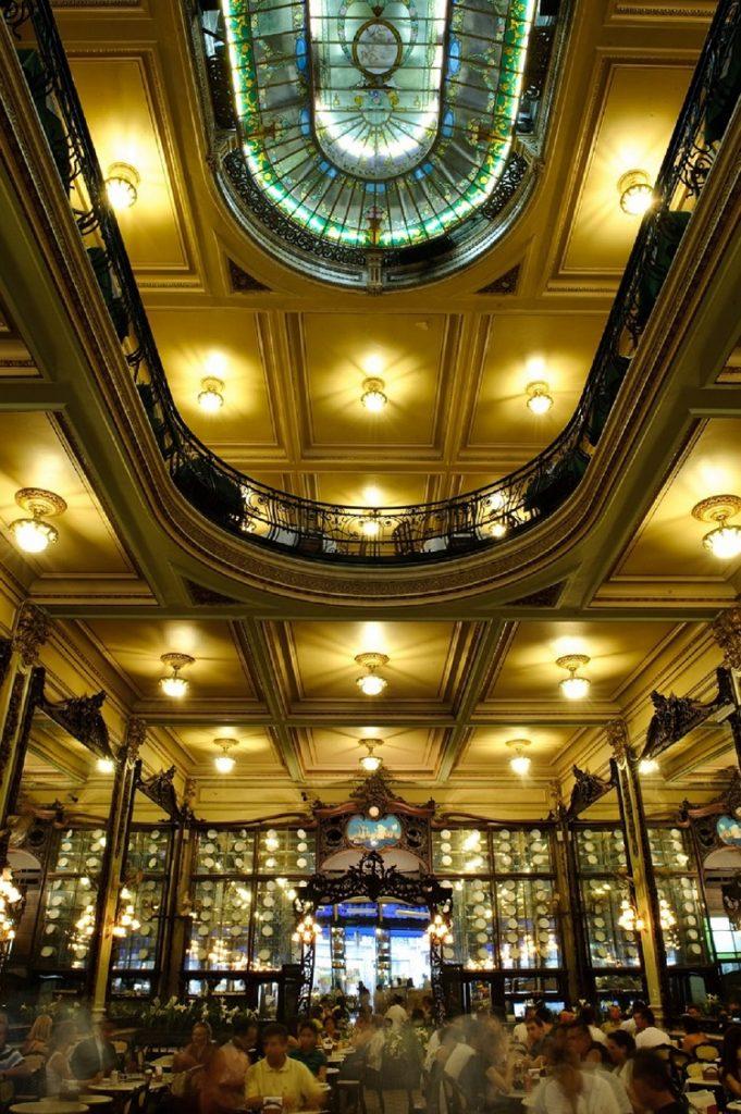 Confeitaria Colombo. Foto: Wagner Pinheiro