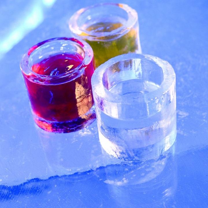 Copos de gelo - Ice Bar Boston