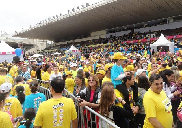 Em 2014, o evento contou com a presença de 12 mil pessoas e mais de 3 mil duplas participantes na capital paulista