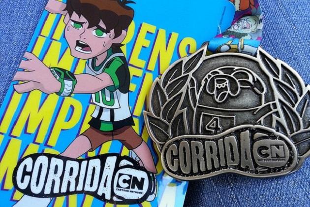 Corrida Cartoon Network no Rio de Janeiro acontece no dia 10 de junho 2