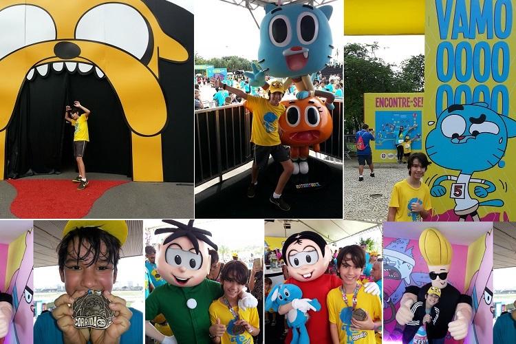 Corrida Cartoon Network no Rio de Janeiro acontece no dia 10 de junho 1