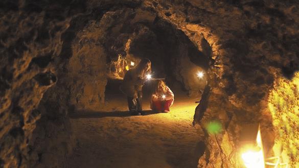 Daugbjerg Limestone Mines