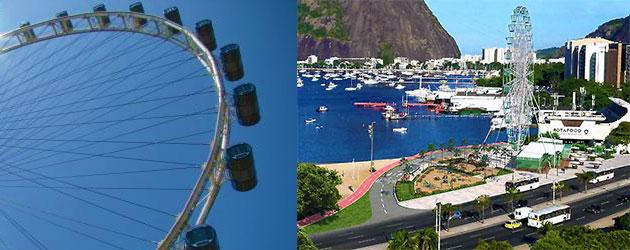 Roda gigante de Botafogo deve ser instalada antes do Carnaval