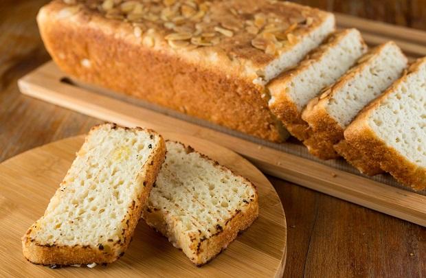 Pão sem Glúten de ervas. Foto: TomasRangel