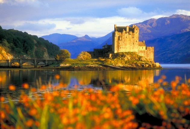 Escócia Highlands Eilean Donan Castle reduzida