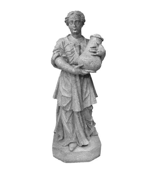 Estátua da Samaritana - Obra atribuída a Aleijadinho