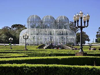 Estufa do Jardim Botânico de Curitiba