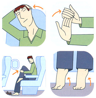 Exercícios para o voo