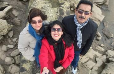 Família em Montevideo