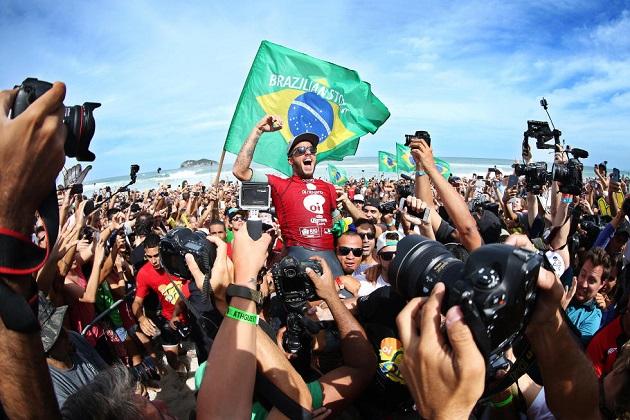 Filipe Toledo Campeão