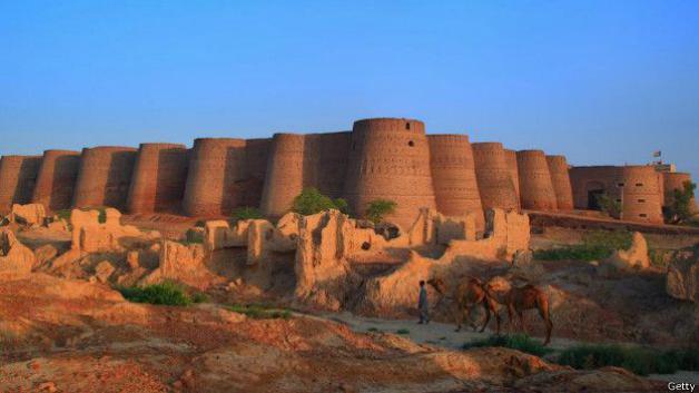 Forte de Derawar, Bahawalpur, Paquistão
