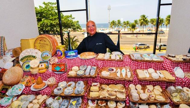 Maitre fromagier  traz ao Rio 117 especialidades de queijos das principais  regiões francesas