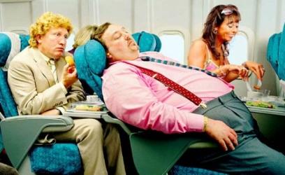 Gordo no avião