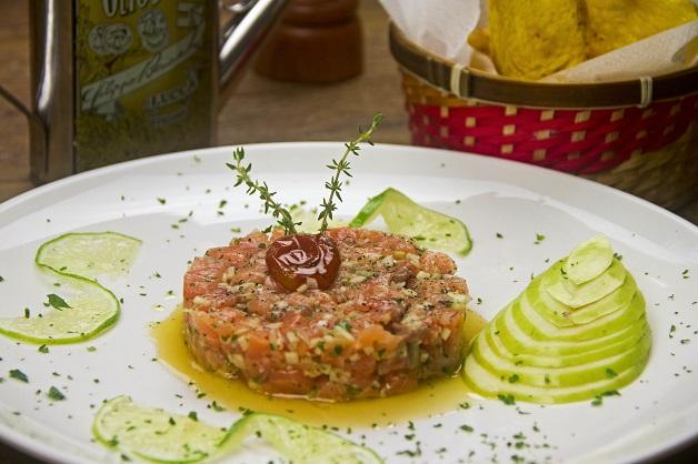 Gourmet Tropical - Tartare salmão