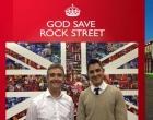 Governo britânico promove a Grã-Bretanha na Rock Street