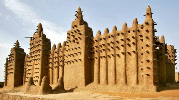 Grande Mesquita de Djenné, Mali