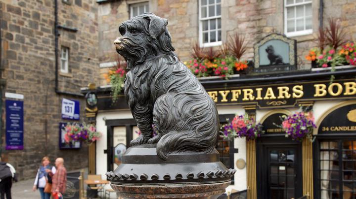 Greyfriar's Bobby - Edinburgo