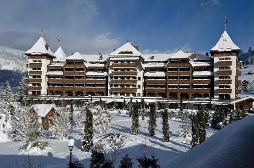 Hotel The Alpina Gstaad, na Suíça