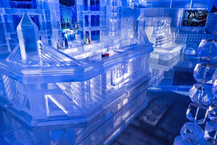 Ice bar de Boston