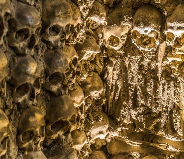 Interior da Capela dos Ossos em Évora 2 - Crédito VictorCarvalho.com.br