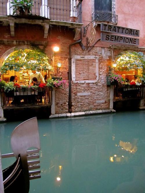 Jantar em Veneza