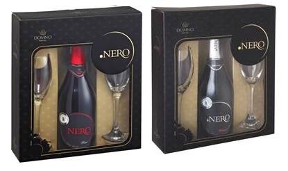 Kit Ponto Nero Brut Rose e Kit Ponto Nero Moscatel