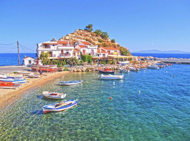 Kokkari Samos Island, Greece