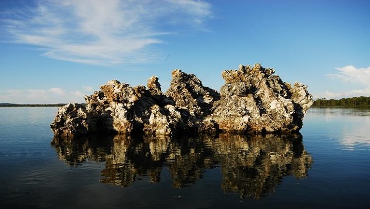 Lagoa da Confusão, no Tocantins. O destino é um dos mais deslumbrantes do estado. Crédito: Emerson Silva