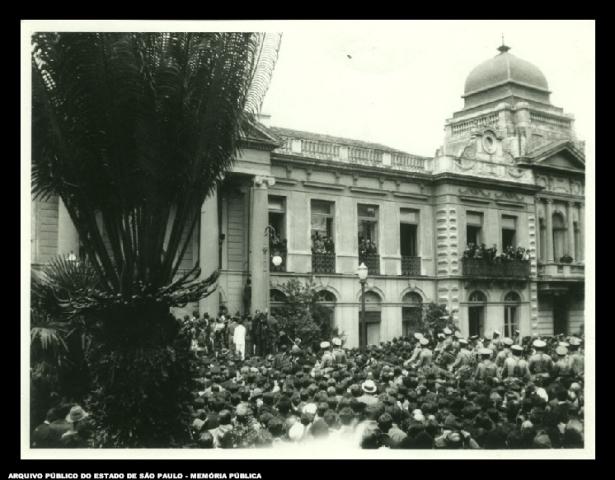 Largo São Bento – Pátio do Colégio –  1927