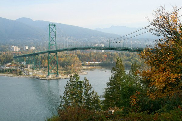 Lions Gate Bridge North End