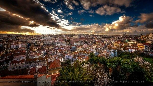 Lisboa vista da Graça Foto de Nuno Trindade