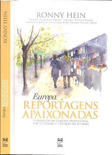 Livro Europa Reportagens Apaixonadas