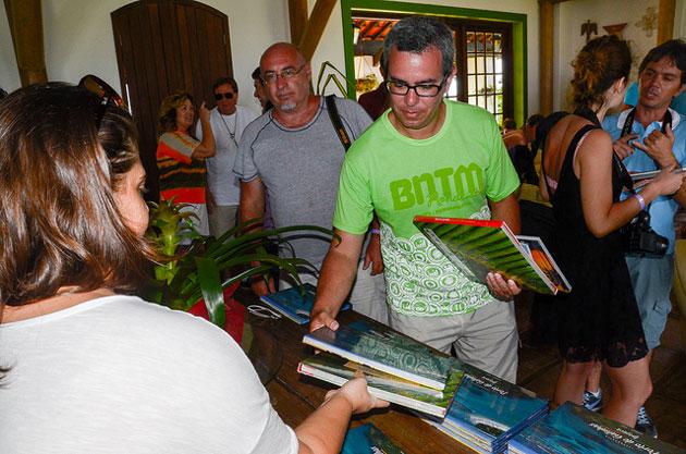 Apresentação do livro. Foto: Flávio Japa/Exclusiva!BR