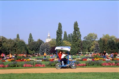 Ótima opção para tomar um solzinho e andar de bicicleta.