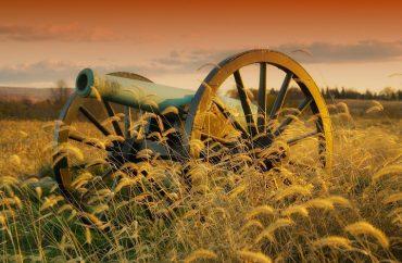 Maryland Canhão Campo De Batalha