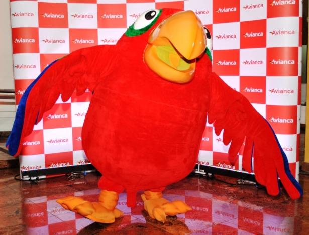 Mascote Avi, do Programa Amigo da Avianca, participa do Chocofest