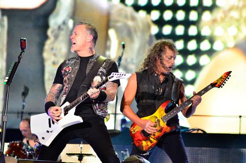 Metallica during Rock in Rio 2013 Foto Rafael Arruda ESTACIO
