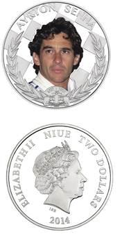 Moeda oficial encerra o ano de celebrações pelos 20 anos do legado de Ayrton Senna