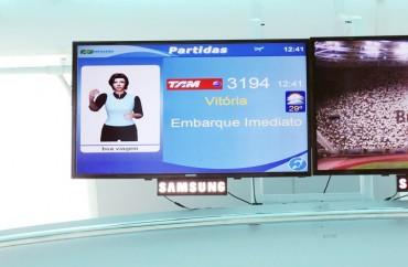 Monitores do Aeroporto Santos Dumont  (2)