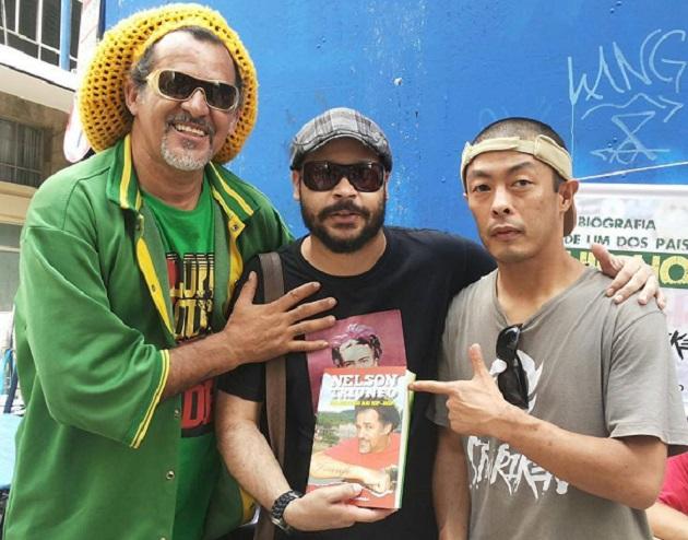 Nelson Triunfo, Fabrício Ramos e Gilberto Yoshinaga.