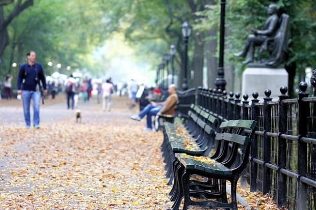 O Central Park já foi usado como cenário de grandes produções hollywoodianas.