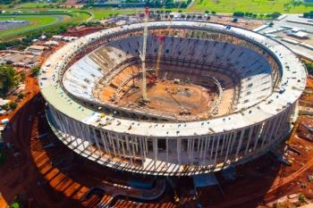 O Estádio Nacional de Brasília Mané Garrincha receberá a abertura da Copa das Confederações, em 15 de junho.