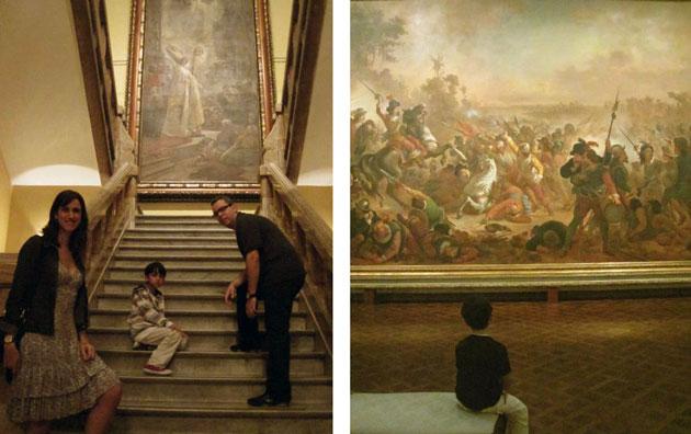 O Museu Nacional de Belas Artes no Rio de Janeiro é uma verdadeira aula de história