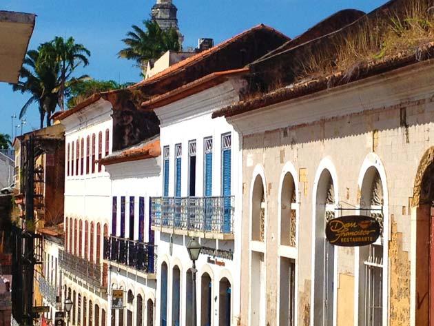 O charmoso Centro Histórico de São Luís do Maranhão