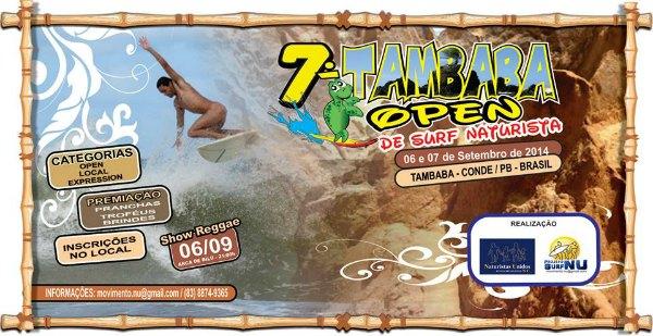 Open surf Tambaba