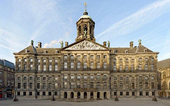 Palácio Real em Amsterdam