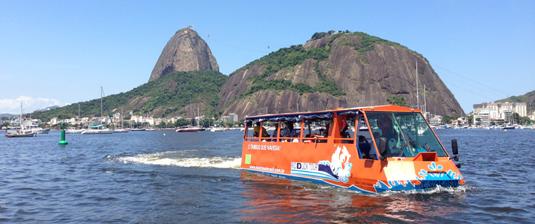 Pelo caminho, algumas das mais belas paisagens do Rio de Janeiro
