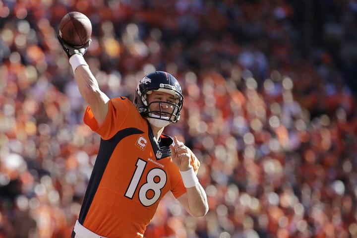Peyton Manning em busca de seu segundo título na NFL