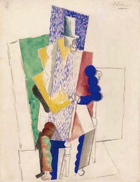 Picasso - O homem da cartola