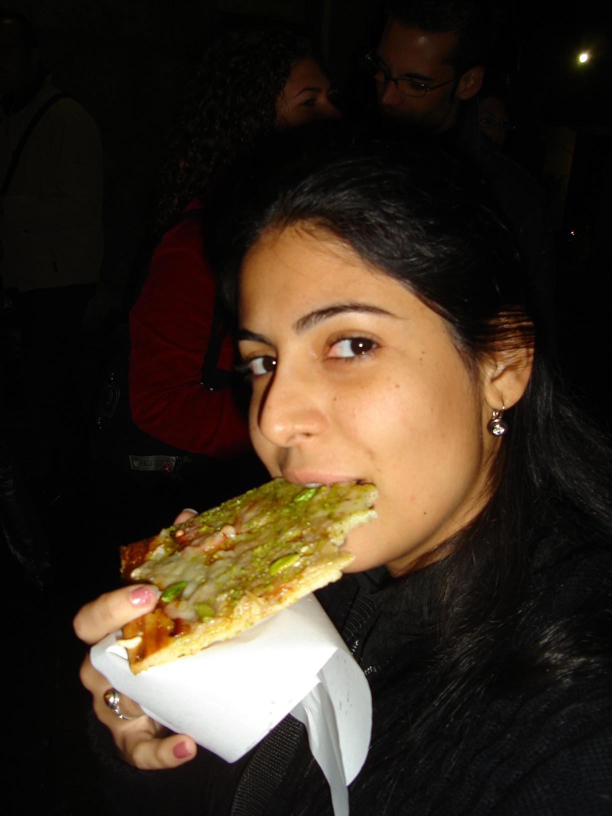 Pizza de Pistache